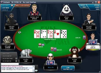 FullTilt.eu Poker Table
