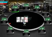 Full Flush Poker Table