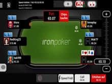 Iron Poker Table