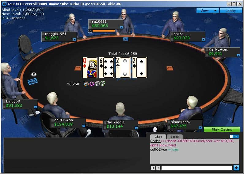 888 Poker™ Review 2019 - EXCLUSIVE €£$1000 + $10 FREE Bonus!