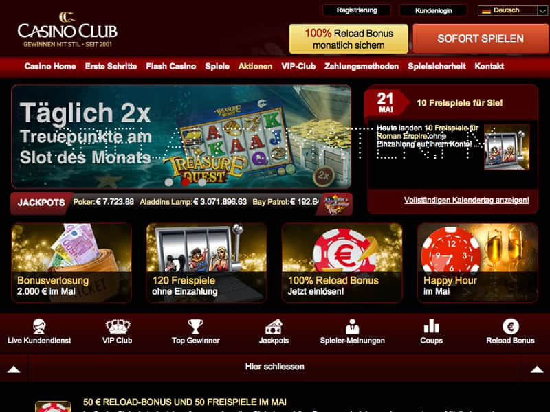 casino club deutschland
