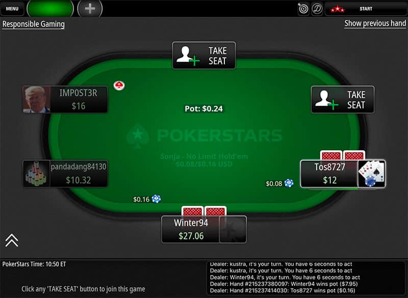 Pokerstars Eu