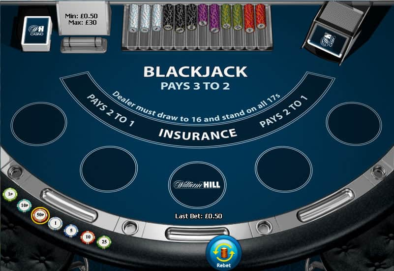 William hill blackjack rules casino bolquere drive