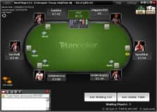 Titan Poker Table