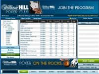 William Hill Poker Lobby