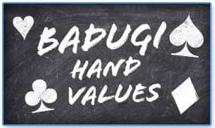 Badugi Hand Values