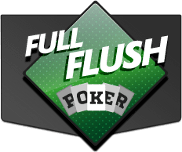 Full Flush Poker Logo