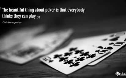 Chris Moneymaker quote poker wallpaper